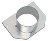 BIRCOsir – kleine Nennweiten Dimension Nominale 100 Accessoires Obturateur de fin avec sortie DN 100 pour hauteur 180-330. en acier galvanisé