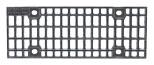 BIRCOsir – kleine Nennweiten Dimension Nominale 100 Recouvrements Grille caillebotis en fonte