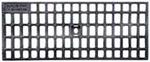 BIRCOlight Dimension Nominale 150 AS Recouvrements Grille caillebotis en fonte