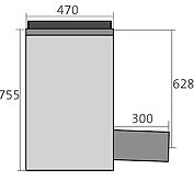 BIRCOchimie Drainage ponctuel sans dimension nominale Avaloirs Avaloir de base avec vanne d'arrêt en tant que drainage ponctuel