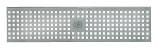BIRCOtop série F sans arête visible 100 (dimension extérieure) Recouvrements Grille perforée trous carrés