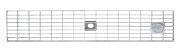 BIRCOtop série F sans arête visible 100 (dimension extérieure) Recouvrements Grille caillebotis mailles 30/10. avec boulonnage