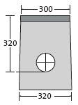 BIRCOsir Drainage ponctuel sans dimension nominale Avaloirs Avaloir 30/30 en tant que drainage ponctuel