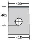 BIRCOsir Drainage ponctuel sans dimension nominale Avaloirs Avaloir 40/40 1-partie