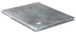 BIRCOchimie Drainage ponctuel sans dimension nominale Recouvrements Grille caillebotis pour drainage ponctel 40/40 maille 20/30 or 20/12
