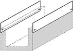 BIRCOcanal Dimension Nominale 200 Accessoires Tôles latérales